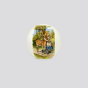 Alice and the Doe Mini Button