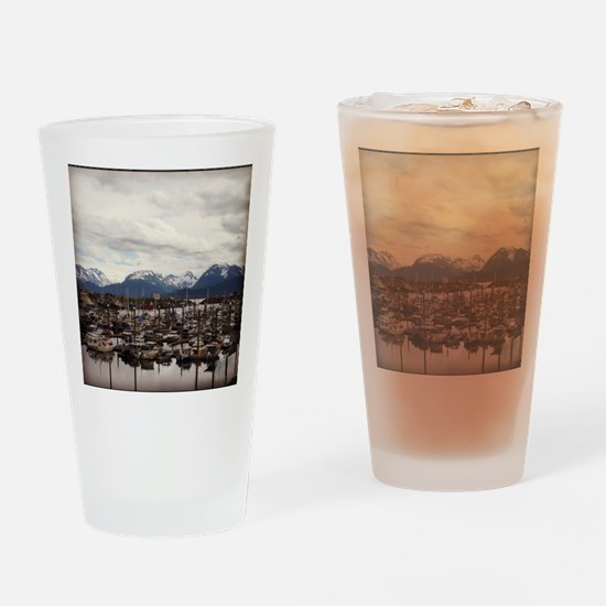 Homer Alaska Drinking Glass