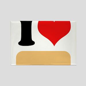 I heart Twinkies Rectangle Magnet