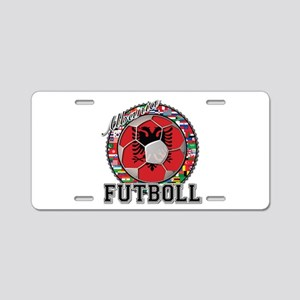 Albania Flag World Cup Futboll Ball Aluminum Licen