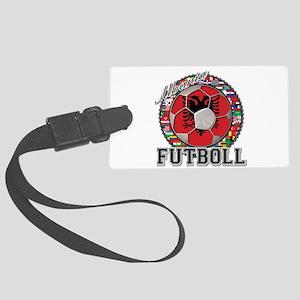 Albania Flag World Cup Futboll Ball Large Luggage