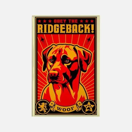 Obey the Rhodesian Ridgeback! Magnet