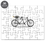 Tandem Bike Christmas Puzzle