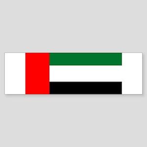 UAE - National Flag Sticker (Bumper)