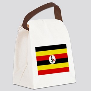 Uganda - National Flag - Current Canvas Lunch Bag