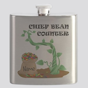 Chief Bean Counter Flask
