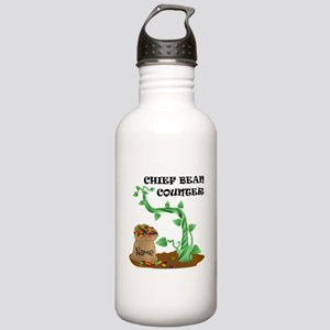 Chief Bean Counter Stainless Water Bottle 1.0L