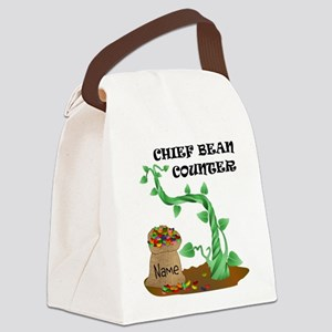 Chief Bean Counter Canvas Lunch Bag
