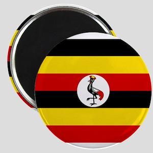 Uganda - National Flag - Current Magnet