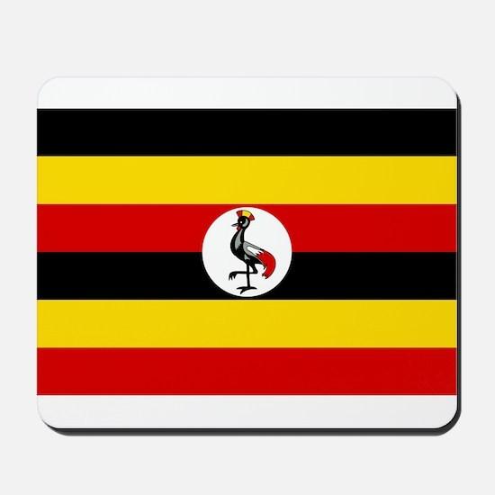 Uganda - National Flag - Current Mousepad