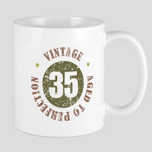 35th Vintage birthday Mug