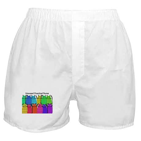 LPN cats Boxer Shorts