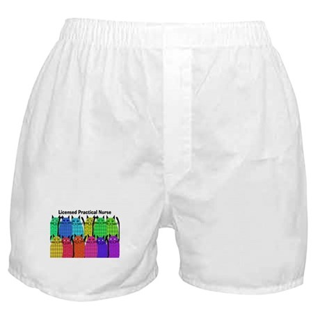 LPN cats Boxer Shorts
