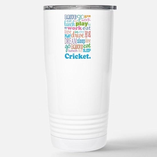 Cricket Stainless Steel Travel Mug