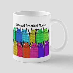 LPN cats Mug
