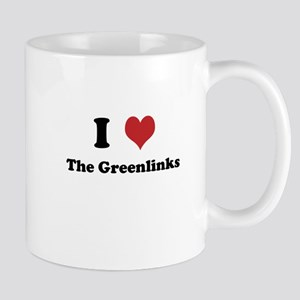 I Love The Greenlinks Mug