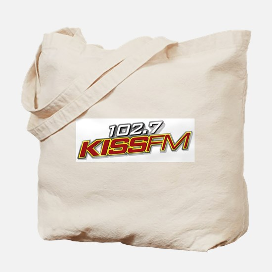 102.7 KISSFM Tote Bag