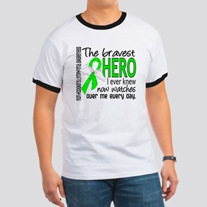 Bravest Hero I Knew NH Lymphoma Ringer T