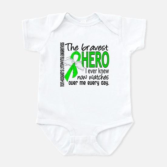 Bravest Hero I Knew NH Lymphoma Infant Bodysuit