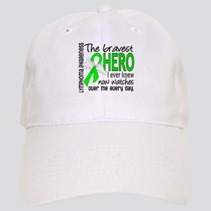 Bravest Hero I Knew Lymphoma Cap