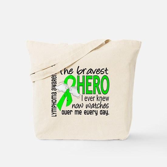 Bravest Hero I Knew Lymphoma Tote Bag