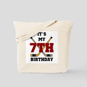 Hockey Birthday Tote Bag