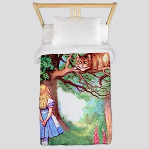 Alice and the Cheshire Cat Twin Duvet