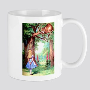 Alice and the Cheshire Cat Mug