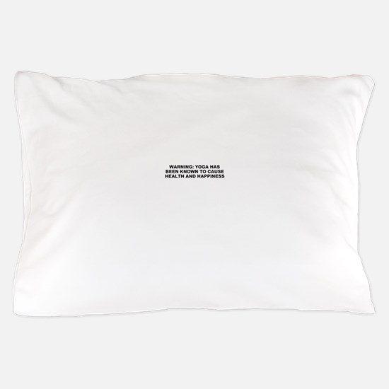 Yoga happiness Pillow Case