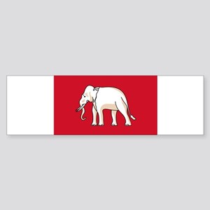 Thailand - National Flag - 1855-1916 Sticker (Bump
