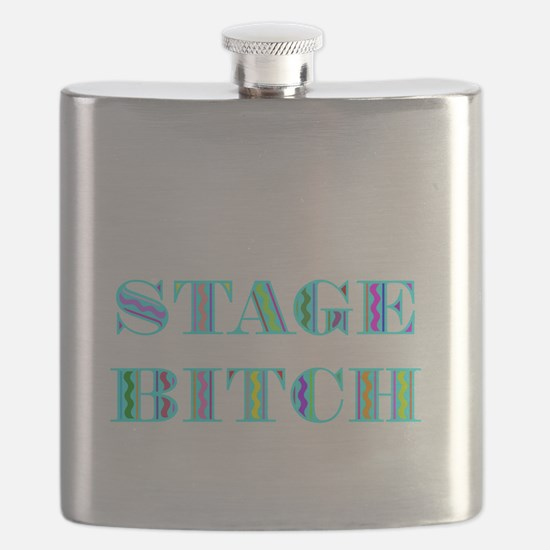 STAGE BITCH BLUE.BMP Flask