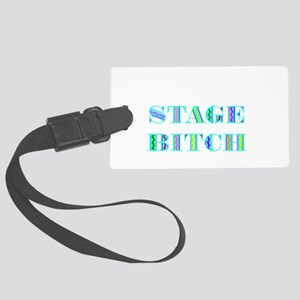 STAGE BITCH BLUE Large Luggage Tag