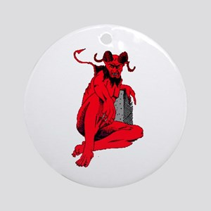 Lucifer Ornament (Round)