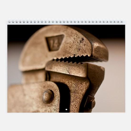 Craftmanship Tools Wall Calendar