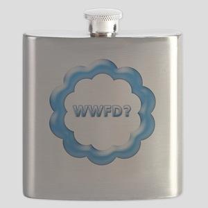 WWFD blue Flask
