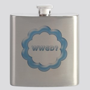 WWGD blue Flask