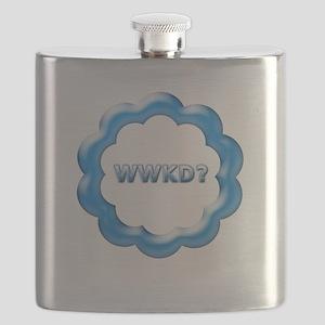 WWKD blue Flask
