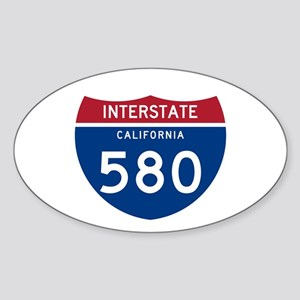 Interstate 95 Oval Sticker