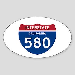Interstate 95 Oval Sticker