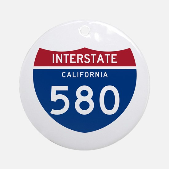 Interstate 95 Ornament (Round)