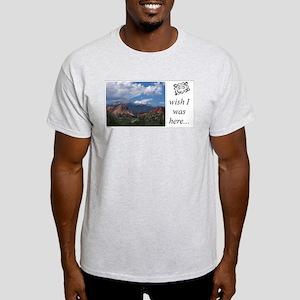 Ash Grey T-Shirt - pikes peak