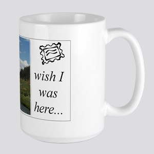 Large Mug - mountain stream