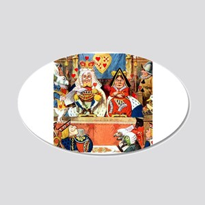 The Trial of the Knave of Hearts 20x12 Oval Wall D