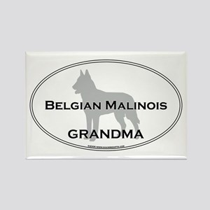 Belgian Malinois GRANDMA Rectangle Magnet