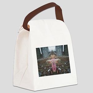 dollzilla Canvas Lunch Bag