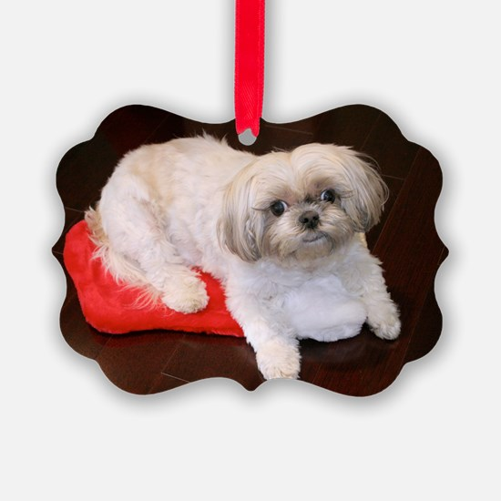 Dog Holiday Ornament