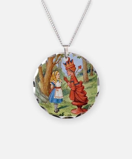 Alice Meets The Red Queen Necklace