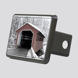 Silk Road Covered Bridge Rectangular Hitch Cover