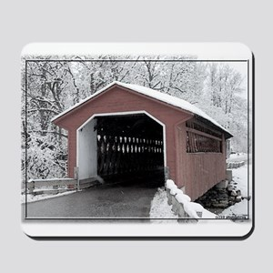 Silk Road Covered Bridge Mousepad
