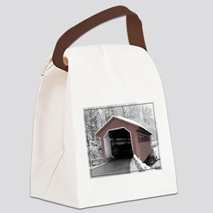 Silk Road Covered Bridge Canvas Lunch Bag